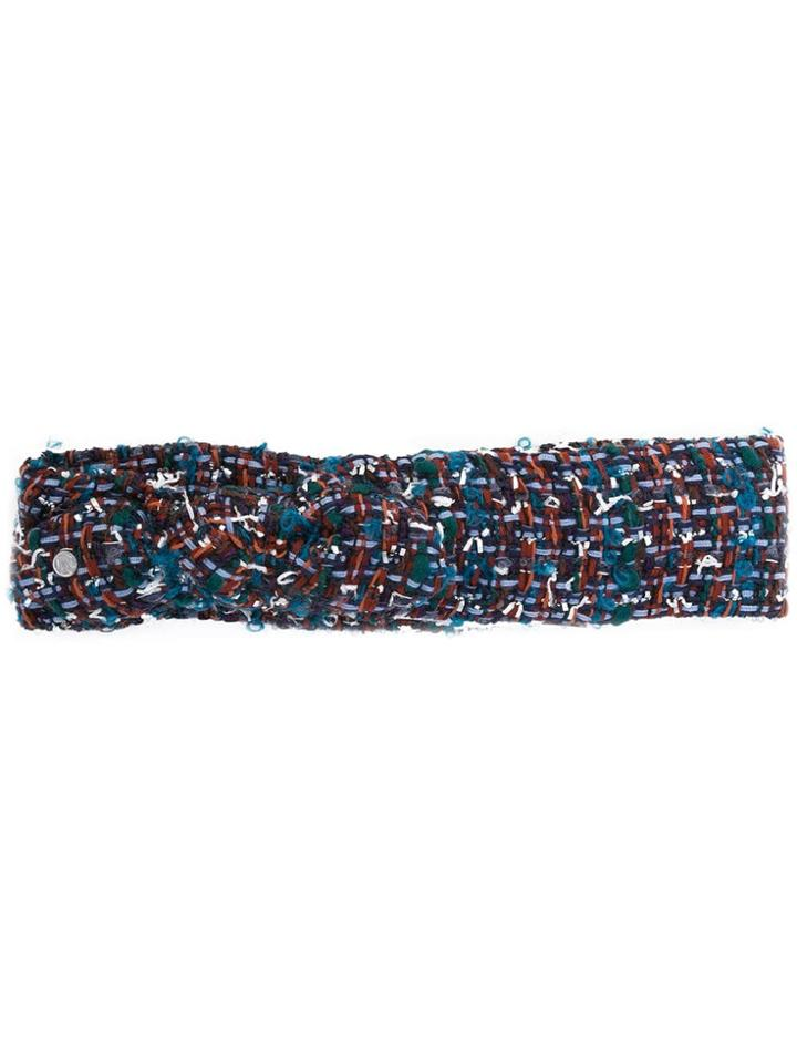 Maison Michel Tweed Headband - Multicolour