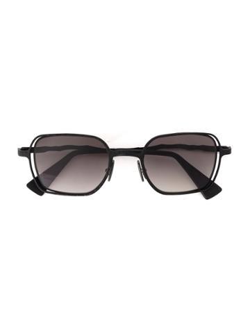 Kuboraum Square Lens Sunglasses - Grey