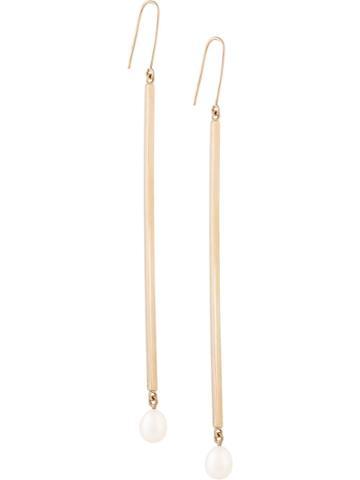 Meadowlark 9kt Yellow Gold Roma Large Drop Earrings