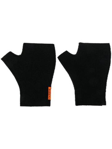 Barena Fingerless Gloves - Black