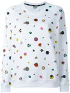 Kenzo 'tanami' Sweatshirt, Women's, Size: Small, White, Cotton