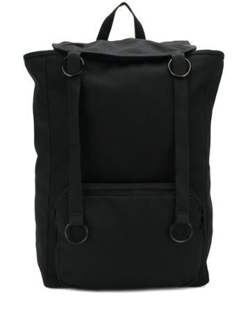 Raf Simons X Eastpack Foldover Top Backpack - Black