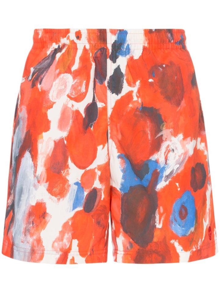 Alexander Mcqueen Floral Print Swim Shorts - Multicoloured