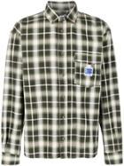 Rassvet Long Sleeve Checked Print Shirt - Green
