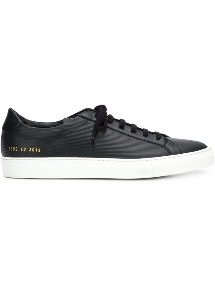Common Projects Achilles Retro Low-top Sneakers