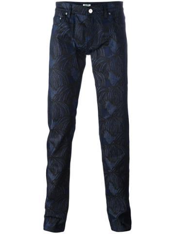 Kenzo 'hairs' Jeans, Men's, Size: 30, Blue, Cotton/elastodiene