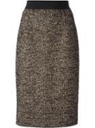 Giambattista Valli Tweed Sight Midi Skirt