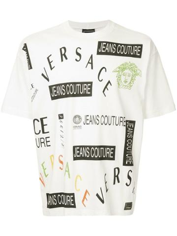Versace Vintage Printed T-shirt - White