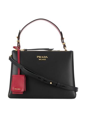 Prada Prada Deux Bag - Black