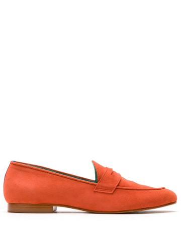 Blue Bird Shoes Boyish Camurça Tomate Salvador - Orange