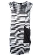 Outsource Images Printed Shift Dress