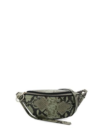 Rebecca Minkoff Bree Embossed Belt Bag - Green