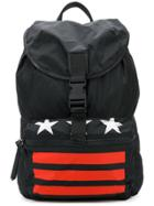 Givenchy Star Striped Backpack - Black