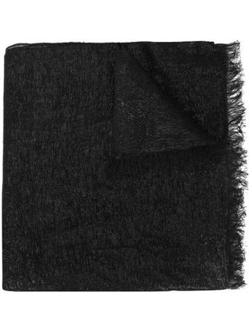 Bajra Metallic Scarf - Black