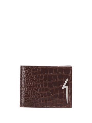 Giuseppe Zanotti Albert Flash Wallet - Brown