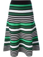 P.a.r.o.s.h. Striped Midi Skirt