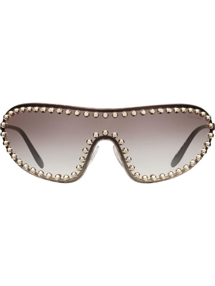 Prada Eyewear Prada Eyewear Collection Sunglasses - Grey