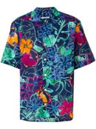 Costumein Floral Print Shirt - Blue