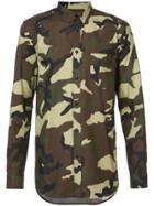 Givenchy Camouflage Shirt - Green