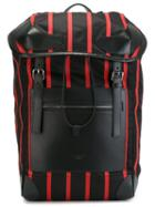 Givenchy 'rider' Striped Backpack