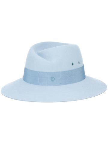 Maison Michel Virgine Hat, Women's, Size: Medium, Blue, Rabbit Felt