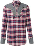 Dsquared2 Checked Studded Shirt