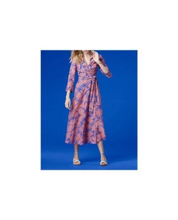 Dvf Diane Von Furstenberg Collared Wrap Dress - Unavailable