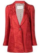 Etro Patterned Blazer - Red