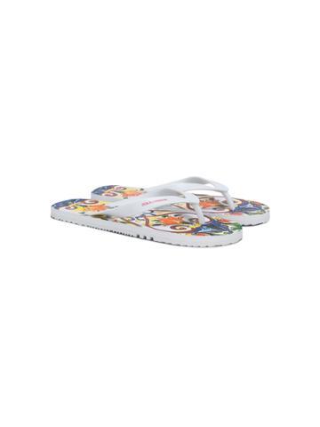 Dolce & Gabbana Kids Majolica Print Flip-flops - White