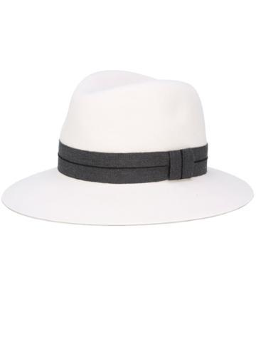 Rag & Bone Fedora Hat, Women's, Size: 54, Nude/neutrals, Wool Felt