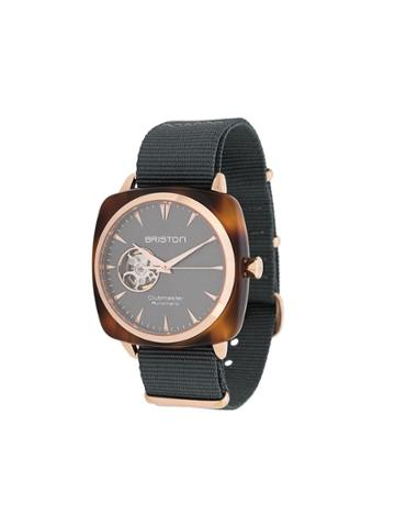 Briston Watches Clubmaster Iconic Watch - Grey