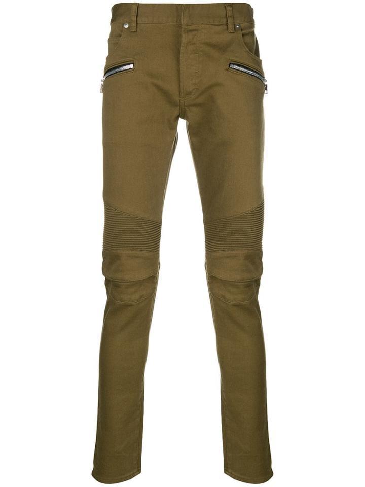 Balmain Skinny Jeans - Green