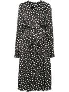Dalood Dotted Dress - Black