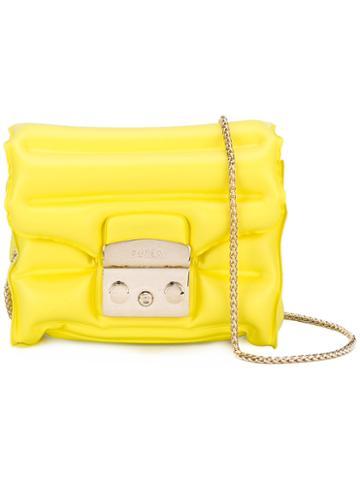 Furla - Metropolis Oxygen Bag - Women - Pvc - One Size, Yellow/orange, Pvc