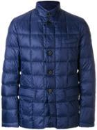 Fay Padded Zip Jacket - Blue