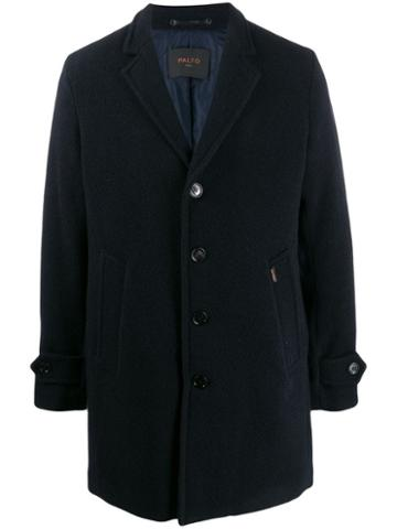 Paltò Geraldo Wool Coat - Blue