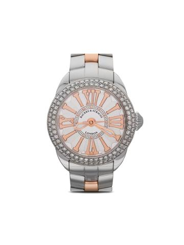 Backes & Strauss Piccadilly Steel 37mm - White