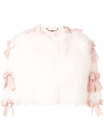 Fendi Fox Fur Cape - Pink