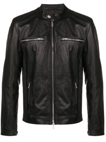 Dondup Derick Moto Jacket - Black
