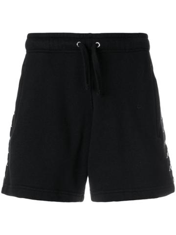 Faith Connexion High-waisted Track Shorts - Black