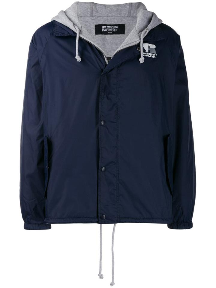 Rassvet Hooded Jacket - Blue