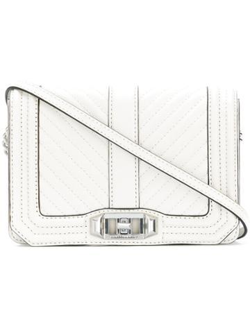 Rebecca Minkoff Quilted Shoulder Bag - White
