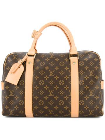 Louis Vuitton Vintage Carryall Luggage Bag - Brown