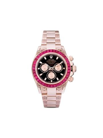 Mad Paris Rolex Oyster Perpetual Ruby 40mm - Black