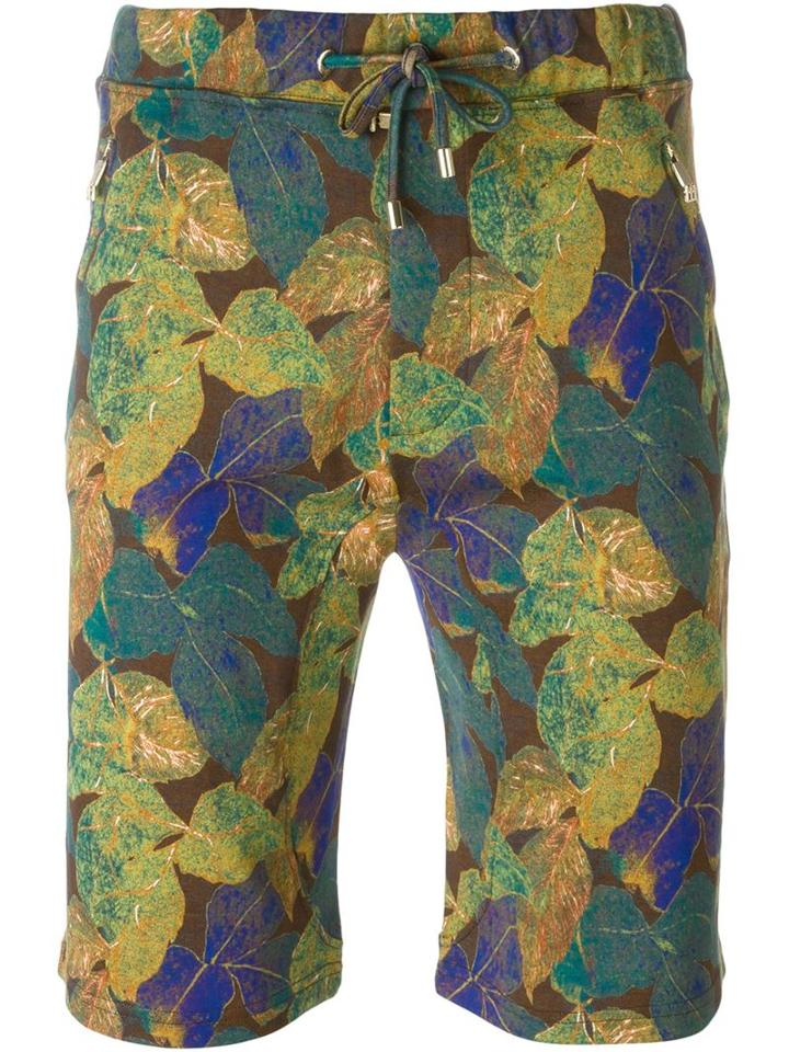Etro Floral Print Track Shorts
