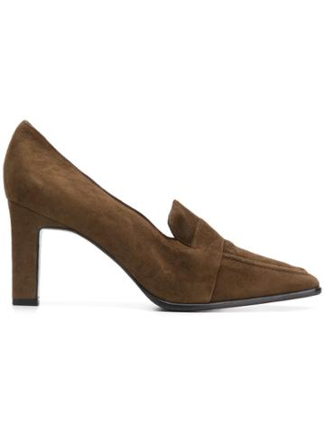 Christian Dior Vintage 1990's Pointed Pumps - Brown