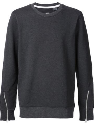 G-star Sleeve Zip Sweater