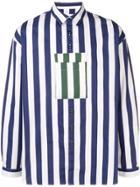 Sunnei Striped Shirt - Blue