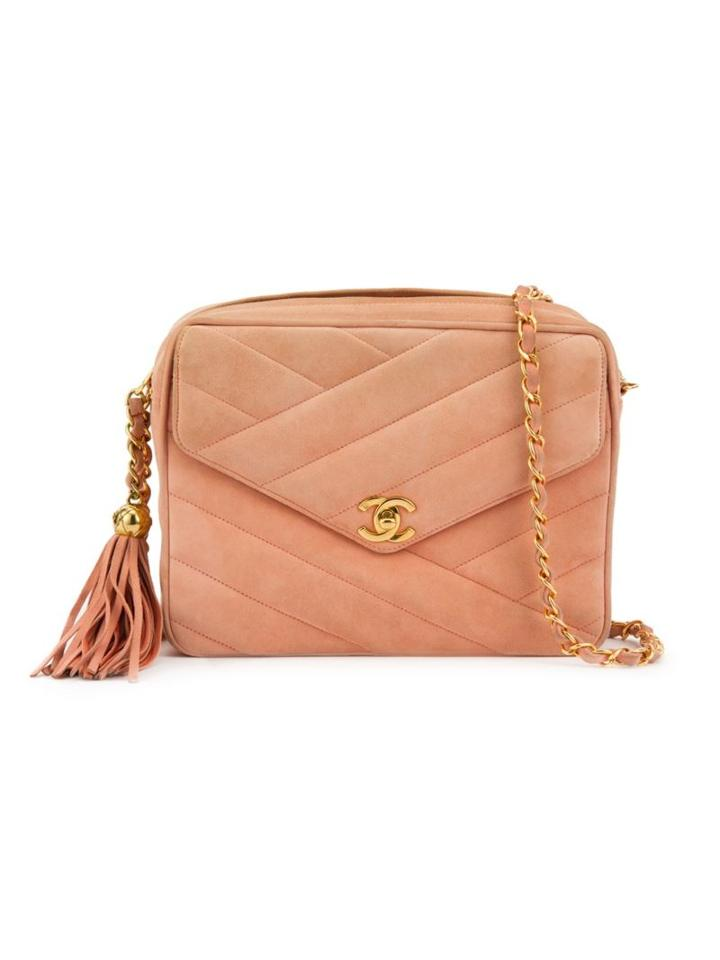 Chanel Vintage Flap Shoulder Bag, Women's, Pink/purple