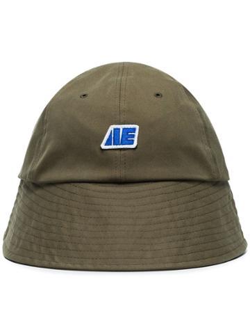 Ader Error Green Logo Bucket Hat